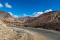 Manali leh road to ladakh in indian himalayas near baralacha la pass himachal pradesh india Stock Image