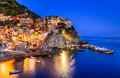 Manarola, Cinque Terre, Italy Royalty Free Stock Photo