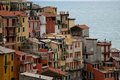Manarola houses photo of of italy Stock Photos