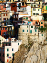 Manarola village, Cinque Terre, Italy Royalty Free Stock Images