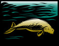 Manatee or dugong