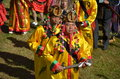 Manau traditional event of Kachin's tribe to worship God Royalty Free Stock Photography