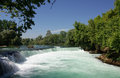 Manavgat waterfall in turkey summer Royalty Free Stock Photos