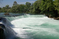 Manavgat waterfall in turkey summer Royalty Free Stock Images
