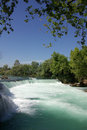 Manavgat waterfall in turkey summer Stock Image