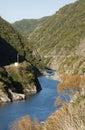 Manawatu Gorge Royalty Free Stock Photo