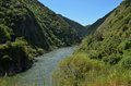 Manawatu River - New Zealand Royalty Free Stock Photo