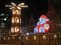 Manchester christmas markets england xmas uk Stock Photos