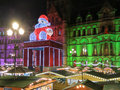 Manchester christmas markets england xmas uk Stock Images