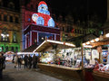 Manchester christmas markets england xmas uk Stock Photo