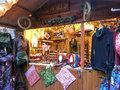 Manchester christmas markets england xmas uk Royalty Free Stock Photography