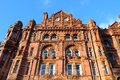 Manchester city in north west england uk famous hotel built in eclectic edwardian baroque architecture style listed building Stock Photos