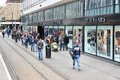 Manchester shopping uk april people visit area on april in uk greater is the rd most populous urban area in Stock Photography