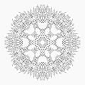 Mandala. Antistress coloring pages for adults.
