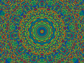 Mandala Background Royalty Free Stock Image