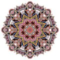 Mandala, circle decorative spiritual indian symbol