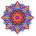 Mandala color of LGBT