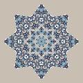 Mandala. Ethnicity turkish round ornament. Ethnic style