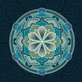 Mandala.Floral mandalas set.Coloring book. Outline . Pattern. Weave design element Royalty Free Stock Photo
