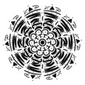 Mandala geometric ornament
