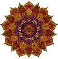 Mandala Geometric Round Orname...