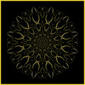 Mandala golden ornament arabesque this circular is based on our long term study of sacred geometry an artistic application of Royalty Free Stock Photos