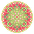 Mandala_heart Stock Images