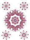Mandala henna design fashion paisley indian Royalty Free Stock Photography