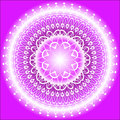 Mandala Indigo Royalty Free Stock Photography