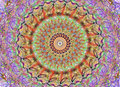 Mandala in many colours Royalty Free Stock Photo