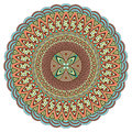 Mandala multicolor. Boho style, hippie jewelery. Round Ornament Pattern. Vintage decorative elements. Оriental pattern