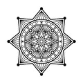 Mandala ornament Stock Photos