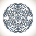 Mandala Round Ornament Pattern Stock Photo