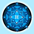 Mandala shield Stock Photography