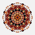 Mandalas collection. Round Ornament Pattern. Vintage decorative elements Royalty Free Stock Photo