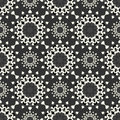 Mandalas Seamless pattern. Vintage decorative elements. Vector illustration