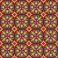 Mandalas. Seamless pattern. Vintage decorative elements. Vector illustration