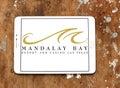 Mandalay Bay resort and casino las vegas logo Royalty Free Stock Photo