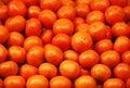 Mandarin heap Royalty Free Stock Photography