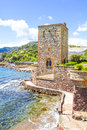 Mandelieu la napoule castle south of france Stock Image