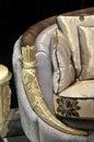 Maneta del sofá detalladamente Imágenes de archivo libres de regalías