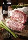Japanese Kobe beef Royalty Free Stock Photo