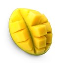 Mango fruit isolated. Royalty Free Stock Photo