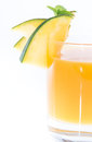 Mango Juice (on white) Royalty Free Stock Images