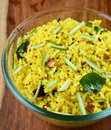Mango rice is a south indian preparation usually eaten as a snack Royalty Free Stock Photography