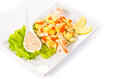 Mango Salad Royalty Free Stock Photography
