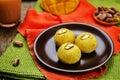 Mango Sandesh. Bengali Sweets