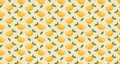 Mango seamless pattern vector Royalty Free Stock Photo