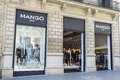 Mango store, Barcelona Royalty Free Stock Photo