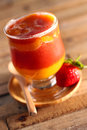 Mango Strawberry Daiquiri Royalty Free Stock Photo
